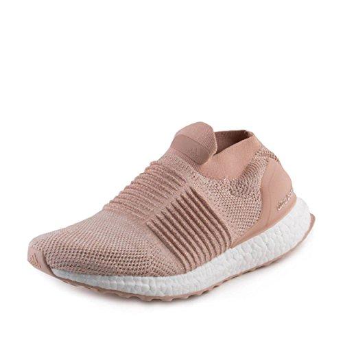 adidas Womens Ultraboost Laceless W Ash Pearl Fabric Size 11.5