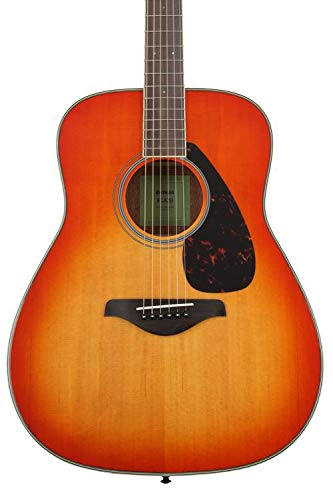 Yamaha FG820 Solid Top Acoustic Guitar, Autumn Burst