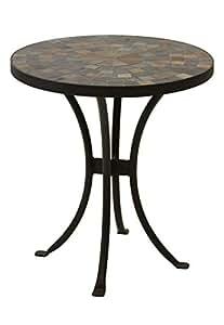 Amazon Com Outdoor Interiors Llc 31625 Mosaic Side Table