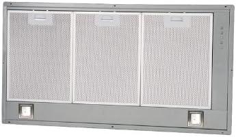 Pando BGF 750 m³/h Encastrada Gris - Campana (750 m³/h, Canalizado, 32 dB, 51 dB, Encastrada, Gris): Amazon.es: Hogar