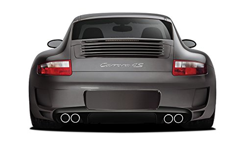 Body 997 - Aero Function ED-PZP-102 AF-1 Rear Bumper Cover (will only fit c4/c4s) (GFK) - 1 Piece Body Kit - Fits Porsche 997 2005-2008