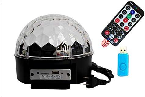 ステージライト Bluetoothのスピーカーのサウンドをアクティブステージライトミニリモート舞台照明ストロボホームディスコライトパーティークリスマスホームルームダンスパーティーのために (Size : B)