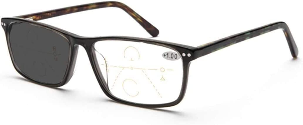 WBMKH - Gafas de lectura con enfoque múltiple progresivo, gafas de lectura fotocromática, antirayos UV, digital, unisex, decoloración, protección solar, impermeable, para mascotas, talla 1,5 x