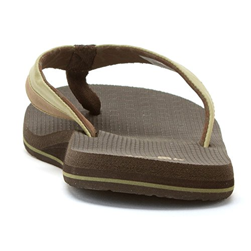 Light Brown Sanuk Olive Cozy Beer Zehentrenner wq0OY