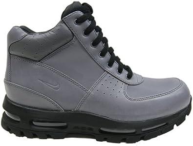Amazon.com | Nike Air Goadome Gray/Black Men's Boot/Sneakers ...