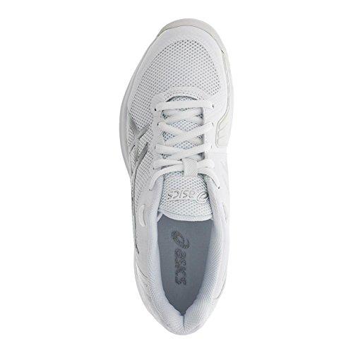 ASICS E800N Herren Gel-Court Speed Schuh Weißsilber