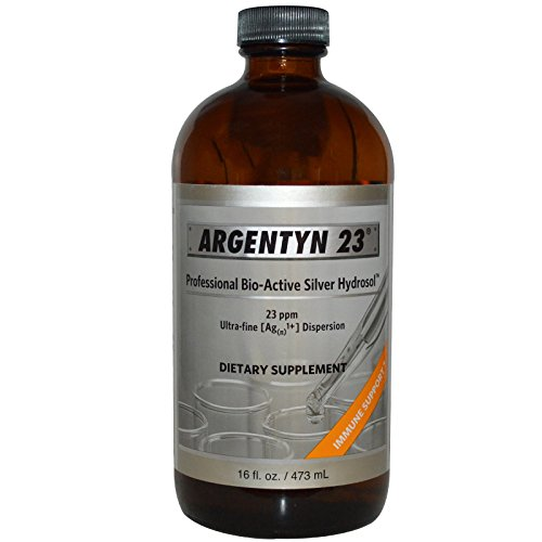 Argentyn 23 PPM Colloidal Silver Hydrosol (16 oz Everyday Bottle)