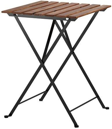 Tavolo Pieghevole Legno Ikea.Ikea Tarno Folding Garden Table In Solid Acacia And Steel Amazon