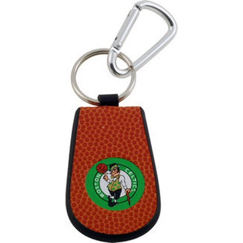 NBA Boston Celtics Basketball Leather Keychain