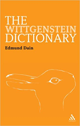 Book Cover for The Wittgenstein Dictionary