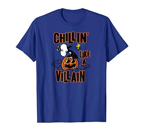 Peanuts Snoopy Chillin' Like A Villain T-Shirt -