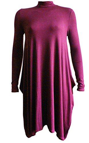 Re Tech UK - Vestido - para mujer moca