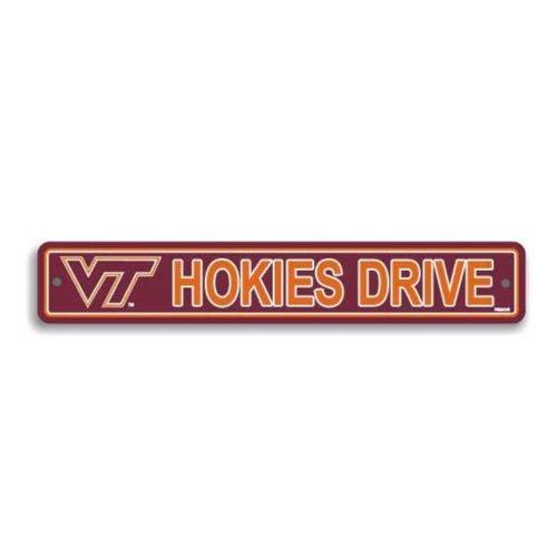 - Flagpole To Go NCAA Virginia Tech Hokies Street Sign