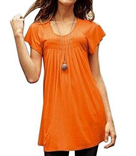 Camiseta de Laura Scott en color naranja naranja