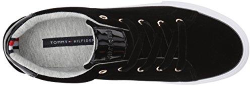 Tommy Hilfiger Womens Lenz Sneaker Black Velvet LOwBR98t