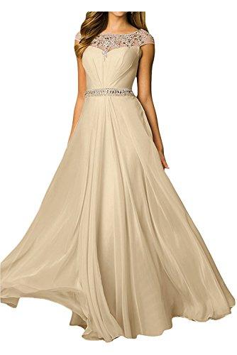 Kleider Abendkleider Damen Champagner Marie Linie Rock La Jugendweihe Lang Elegant Braut A Festlichkleider Grau Langes A8Tpq