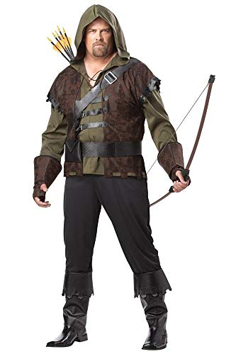 Robin Hood Adult Mens Plus Size Costume ()