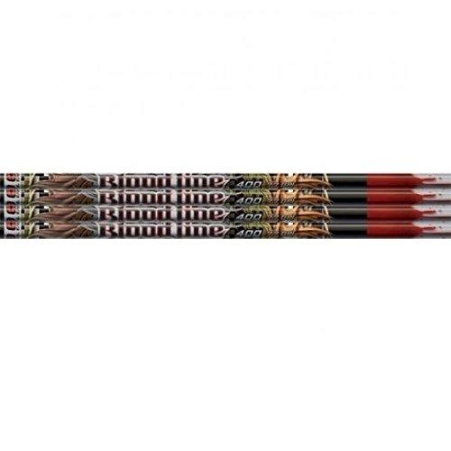 Easton 918779 Bloodline Arrow Shafts, Black