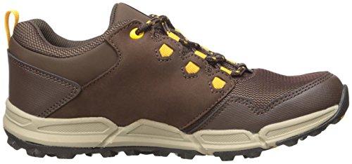 Teva Wit, Zapatos de Low Rise Senderismo para Niños, Gris Marrón (Chocolate/Yellow- Cylwchocolate/Yellow- Cylw)