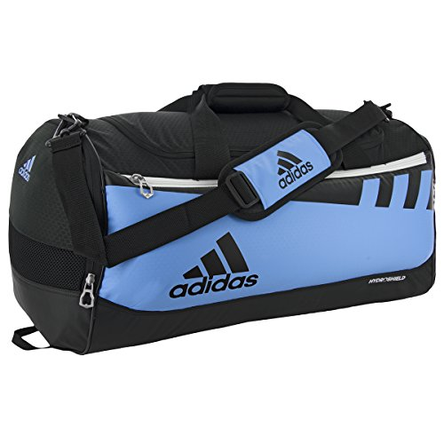adidas Team Issue Duffel Bag, Collegiate Light Blue, Small