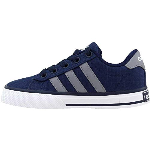 Pictures of adidas NEO SE Daily Vulc K Kids AQ1283 Collegiate Navy/Grey/White 5