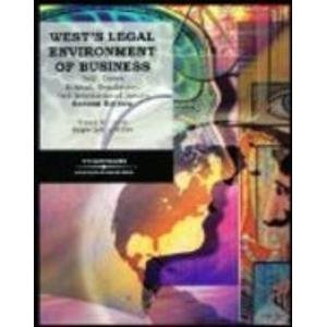 West's Legal Environment of Business: Text, Cases, Ethical, Regulatory, and International Issues pdf
