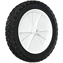 """white plastic set of 4-11 mm width 3//16/"""" bore Toy wheels 45 mm dia"""