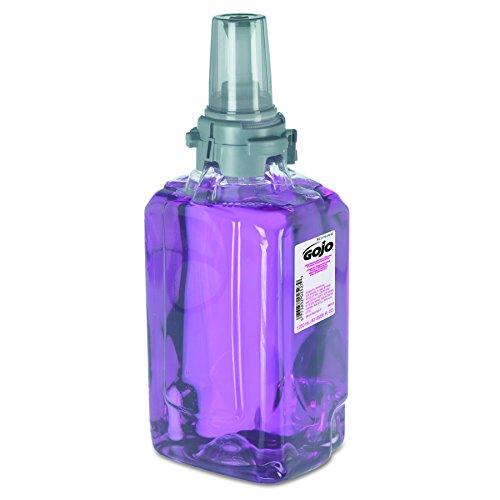 GOJO 881203CT Antibacterial Foam Handwash, Refill, Plum, 1250mL Refill (Case of 3) (Wash Antibacterial)