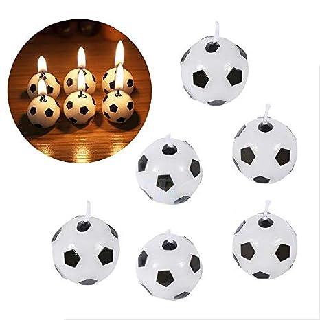 YFB 6 Unids/set Balón de fútbol en forma de fútbol Feliz ...