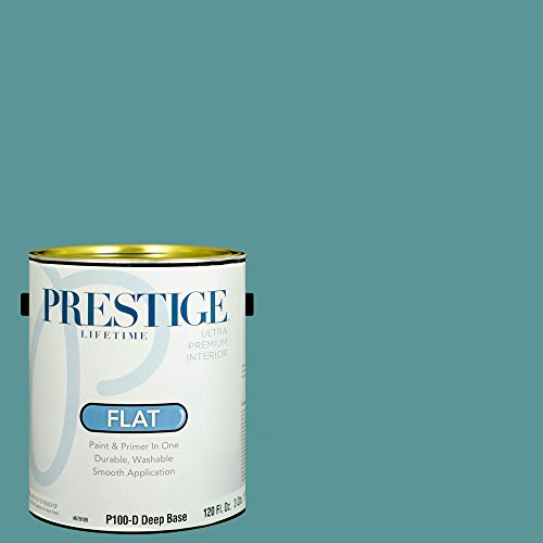 Prestige Paints Interior Paint And Primer In One  1 Gallon  Flat   Comparable Match Of Sherwin Williams Cloudburst