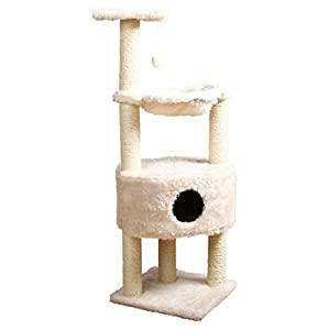 TRIXIE Pet Products Baza Grande Cat Tower, Cream by TRIXIE Pet Products