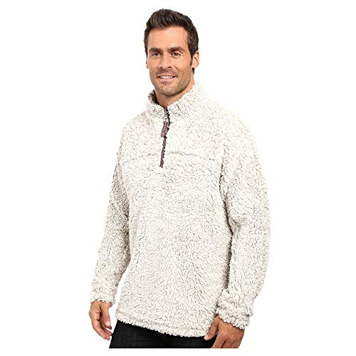 - True Grit Men's Frosty Tipped Pile 1/4 Zip Pullover Putty Medium
