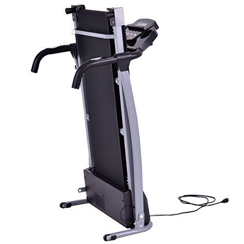 Life Fitness Treadmill Heart Rate Chart: GHP 800W Black Foldable Gym Exercise Treadmill With Multi