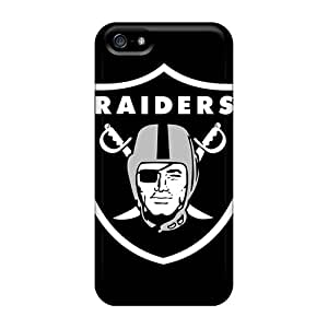 Unique Design Iphone 5/5s Durable Tpu Case Cover Oakland Raiders
