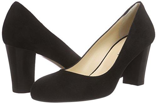 Punta Donna Col Tacco Nero Scarpe Chiusa Shoes schwarz 10 Evita Pump Xx17Rwt0