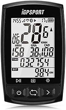 MXBIN IGS50E Bluetooth 4.0 Ordenador de Bicicleta inalámbrico GPS Ant + Velocímetro de Bicicleta Impermeable for Ciclismo Herramienta de reparación de Piezas de Accesorios: Amazon.es: Equipaje