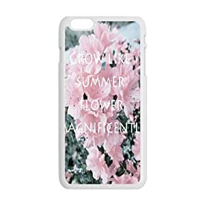 Personalized Creative Cell Phone Case For iPhone 6 Plus,Grow like summer flower magnificentily