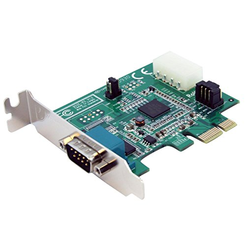 StarTech.com 1 Port Low Profile Native PCI Express Serial Card with 16950 (PEX1S952LP)