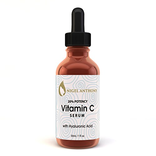 Nigel Anthony VITAMIN C SERUM FOR FACE 20% Potency with HYAL