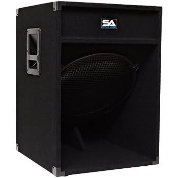 "Amazon.com: Seismic Audio - 18"" Down Firing Pro Audio"