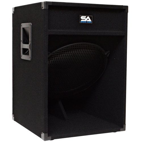 Seismic Audio - 18'' Down Firing Pro Audio Subwoofer PA Cabinet by Seismic Audio