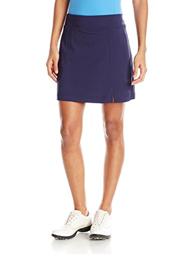 Petite Spandex Peacoat - Callaway Women's Golf Performance 17' Knit Skort with Tummy Control, Peacoat, Small