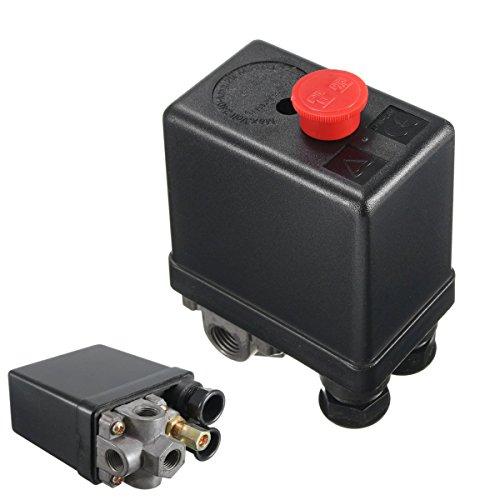145-175Psi Air Compressor Pump Pressure Switch Control Valve Solid 11mm Diameter
