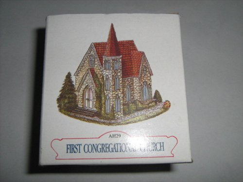 (NEW The Americana Collection Liberty Falls First Congregational Church)