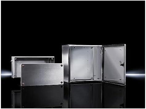 Rittal Kel 9403.600 Acero IP66 Caja eléctrica - Caja para Cuadro eléctrico (380 mm, 210 mm, 380 mm): Amazon.es: Bricolaje y herramientas