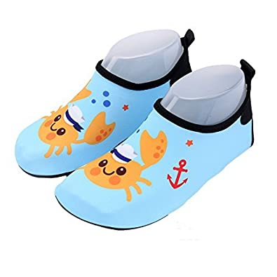 Kid Water Shoes Boy Girl Swim Shoes Barefoot Quick Dry Aqua Shoes Socks for Beach Pool Surfing Swimming