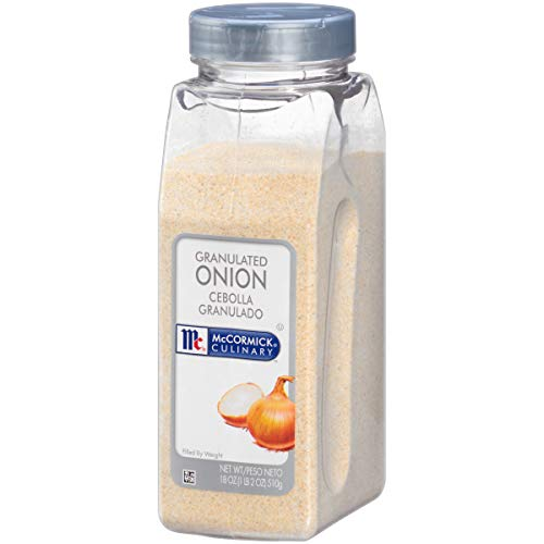 McCormick Culinary Granulated Onions, 18 oz