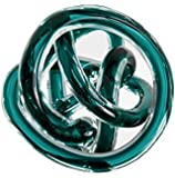 Torre & Tagus 901747B Orbit Glass Decor Ball Large - Teal
