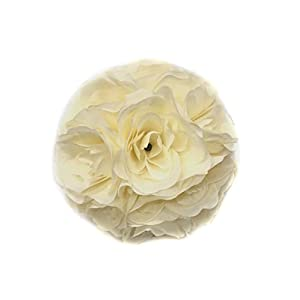 Song Qing Satin Artificial Flowers Silk Rose Flower Kissing Ball Wedding Party Home Decoration 27