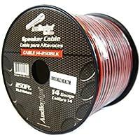 14 Gauge 250 Feet Speaker Wire Red Black 2 Conductor Copper Clad 12 Volt